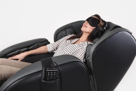Πολυθρόνα μασάζ Casada Betasonic 2 με λειτουργία braintronics®| μαύρο / γκρι