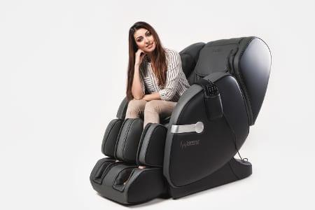 Πολυθρόνα μασάζ Casada Betasonic 2 με λειτουργία braintronics®  μαύρο / γκρι