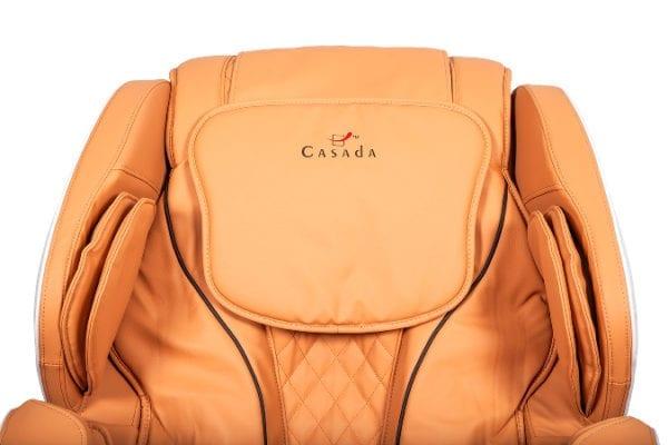 Πολυθρόνα μασάζ Casada Betasonic 2 με λειτουργία braintronics®| κεχριμπάρι / μπεζ