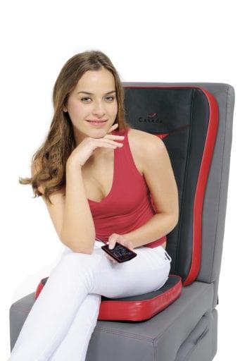 Quattromed 3 Κάθισμα μασάζ με θερμότητα απο νεφρίτη